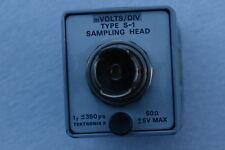 x S-1 TektronimVolts/DIV 350ps ±5V Max 14.5GHz Bandwidth 50 Ohm Sampling Head