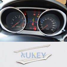 For Mitsubishi ASX Outlander Sport RVR 2011- Chrome Gauge Dashboard Panel Cover