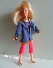 Hasbro Vintage JEM JACKET TOP CAPRIS NECKLACE handmade clothes Fashion NO DOLL