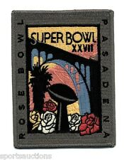 SUPER BOWL 27 ~ Cowboys vs Bills OFFICIAL SB XXVII Willabee Ward NFL PATCH ONLY