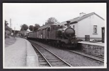 Ireland Donegal Londonderry & Lough Swilly railway Castlefin station 1959 photo