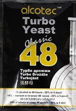 Turbohefe Alcotec 48 Classic Vodka Alkohol Gärhefe Weinhefe Brennhefe 14% brauen