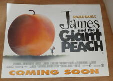 "1996 Original Uk Cinema Poster 12"" x 16""  James and the Giant Peach"
