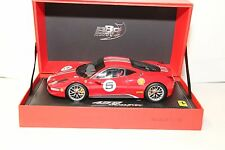 1/18 BBR FERRARI 458 CHALLENGE , LAUNCH VERSION , RED  , NEW