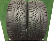 225 40 18  CONTINENTAL WINTER CONTACT TS850P   TYRES  5 MM   X2