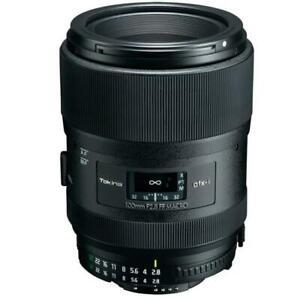 100mm F2.8 TOKINA  AF NEW MACRO PRIME Lens for NIKON CAMERAS with ORIGINAL SHADE