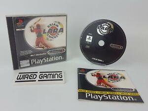 Brian Lara Cricket - PS1 (Sony Playstation 1) Complete (PAL) Black Label