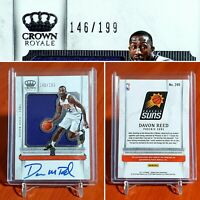 2017-18 Crown Royale DAVON REED RPA Rookie Patch Auto #'d/199