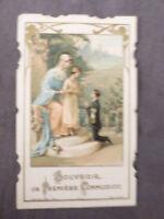 Image pieuse Souvenir premiere communion  Edition Bouasse 4072