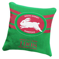 South Sydney Rabbitohs NRL HERITAGE Cushion fabric Pillow Christmas Gift