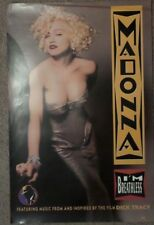 MADONNA 23X34 I'M BREATHLESS PROMO POSTER VOGUE DICK TRACY HANKY PANKY MORE