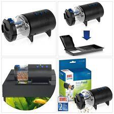 Alimentador automático de peces de Acuario Tanque Dispensador de comida Ajustable Dosificación Autofeeder