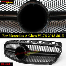 A Class Black AMG Style Grille For W176 Mercedes Benz 2013- 2015 A180 A200 250