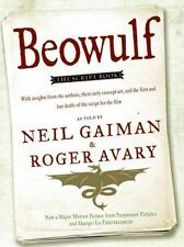 Beowulf - The Script Book by Neil Gaiman, Roger Avary SC new