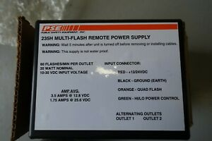 Code 3 2 Head 35 Watt Strobe Power PSE235
