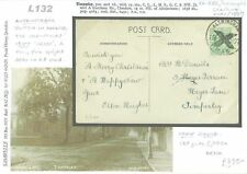 More details for gb card advance posted christmas mail 1907 rare *altrincham* xmas postmark l132