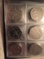 50P Coin Collection Isaac Newton Nhs Battle Of Britain  Hastings Libraries