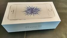 NEW SEALED APPLE iPHONE SE 64GB SILVER UNLOCKED PHONE IN HAND WORLDWIDE SHIPPING