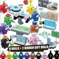10pcs/set Among US game Series Figures Space minifigure action figures toys kid