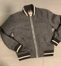 Boys Cherokee Gray Zipper Jacket Size Small 6/7
