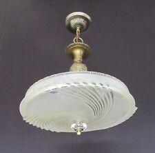 Vintage Art Deco Chandelier - Rewired & Restored                           FX135