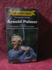 Arnold Palmer - Greatest Sports Legends (VHS) NEW htf oop