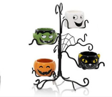 Yankee Candle~Halloween Friends~Collection Multi Tea Light Holder Tree~New