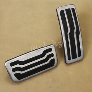 For 2016-2020 Ford Ranger/Everest Brake AND Gas Pedal Pad Covers Kit Accessories