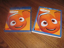 Finding Nemo; Disney Pixar (Blu-ray/Digital Hd, 2016, 2-Disc Set) New+Fast Ship