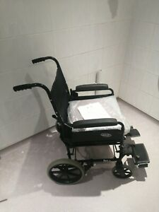 Invacare Ben NG Wheelchair attendant controlled cushion lap belt foldable