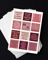 Stickers For Planner, Journal, Diary, Mood Board, Vision Board, Scrapbooking