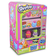 NEW Shopkins Vending Machine Storage TIN retired 2 Exclusive figures Alpha Soup