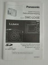 Panasonic Gebruiksaanwijzing DMC-LC43 - Digitale Fotocamera - NL