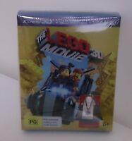 Lego Movie Blu Ray + Blu Ray 3D with Bonus Vitruvius Minifigure **BNIB**