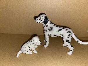 Schleich Dalmatiner Rüde und Welpe * Hund * Hunde