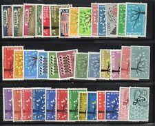 sellos Europa CEPT 1962 completo MNH**