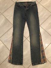 Killah Babe by Miss Sixty Damen Hose Jeans Festival Bootcut 26 34 36 XS S NEU