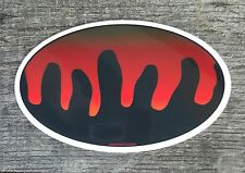 "Fishing Bumper Stickers SOCKEYE SALMON 4.5"" x 3"" decals fly fishing Alaska"