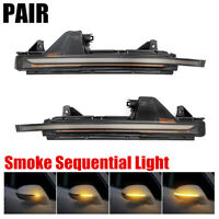 1PAIR NEW HOT Dynamic LED Turn Signal Light Side Mirror Indicator For AUDI A7 JO