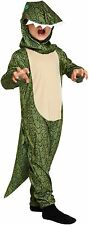 DINOSAUR BOYS GIRLS OUTFIT CHILDREN FANCY DRESS BOOK DAY COSTUME AGES 4-12 YEAR