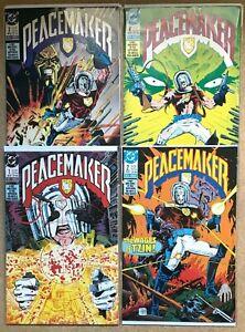 PEACEMAKER #1 2 3 4 MINI-SERIES SET (VF/NM) 1988 DC COMICS - SUICIDE SQUAD HBO
