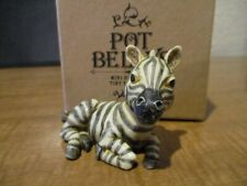 Harmony Ball Pot Belly Kingdom Checkers Zebra New in Box