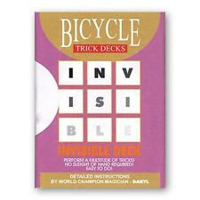 Tarjetas Bicycle Invisible - Invisible Deck Rojo