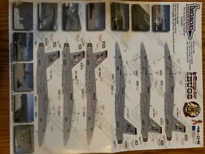 """Twobobs Decals 48-041 F/A-18F Super Bugs """"VFA- 41 Black Aces!"""""""