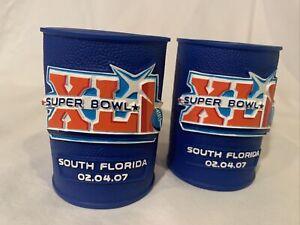Set of Two Super Bowl XLI Koozies