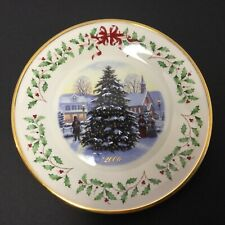 Lenox 2006 16th Annual Holiday Collector'S Plate; No Box New With Tag