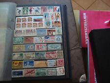 ETATS-UNIS - 42 timbres obliteres (tout etat) stamp united states