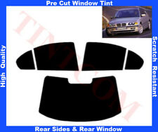 Passgenaue Tönungsfolie BMW 3er E46 Limousine4T 98-05  Heck/Seitenscheiben5%-50%
