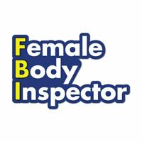 Female Body Inspector Fbi Funny Parody Women Sexy Cheeky Car Sticker Decal