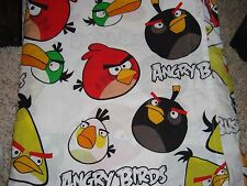 Angry Birds Sheet Twin Flat Bed Sheet Or For Material Sheets, Costumes,